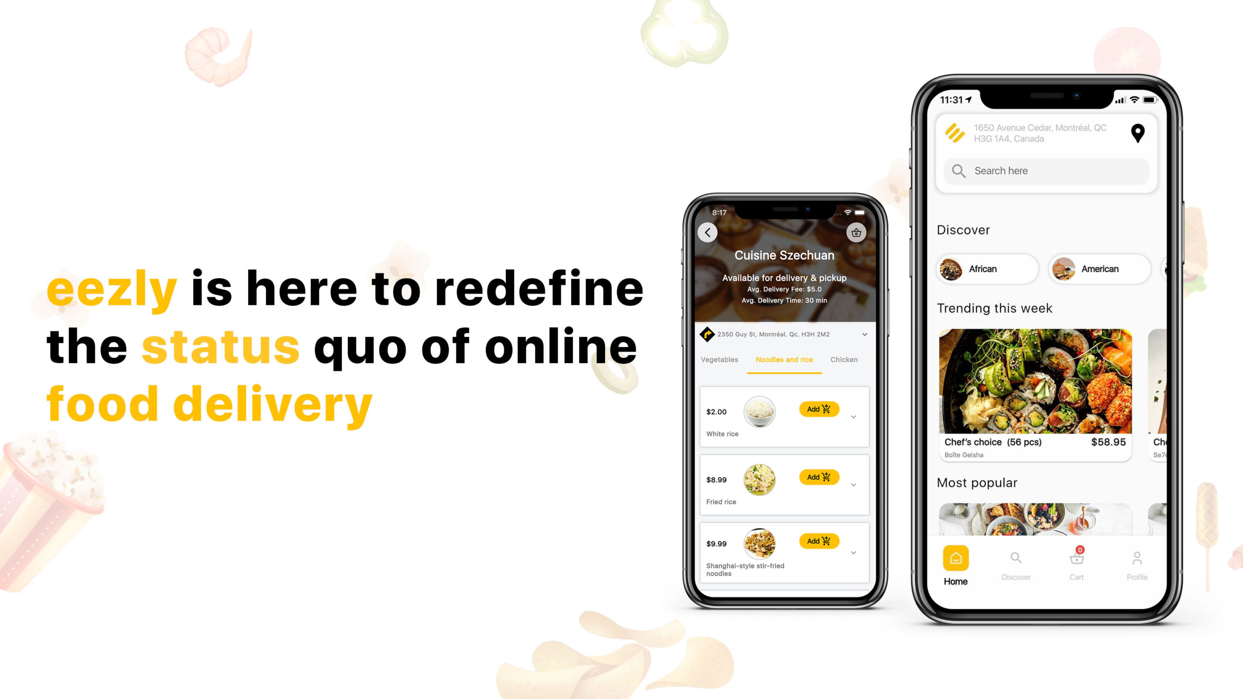 You are currently viewing eezly is here to redefine the status quo of online food delivery