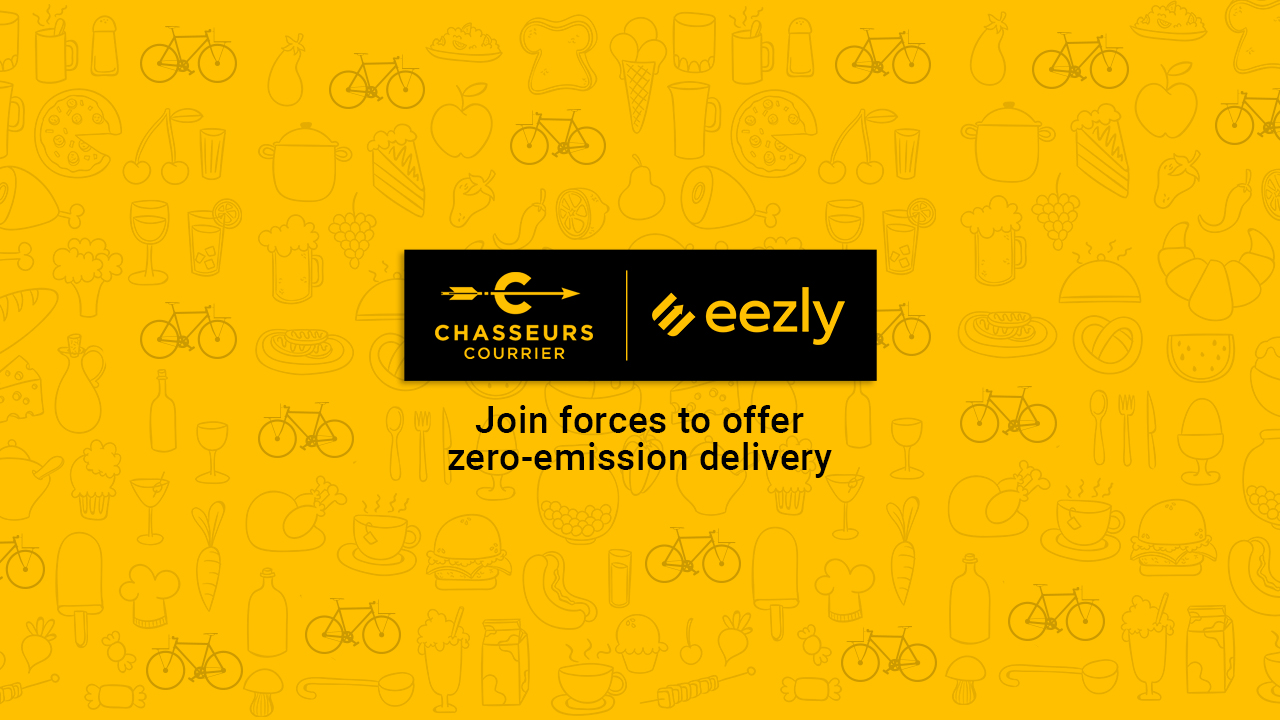 Read more about the article eezly.com, the kayak.com of online food delivery, join forces with Chasseurs Courrier